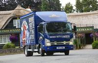 Even more Marston's beer now being delivered by Isuzu