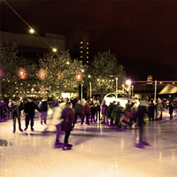 Vauxhall's first ever Ice Rink