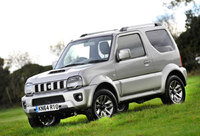 Specification upgrades for 2015 model Jimny