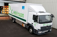 JC Atkinson lifts the lid on cleaner, 'greener' Euro VI Mercedes-Benz Atego
