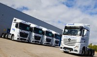 Cool Solutions chills out with Mercedes-Benz Actros