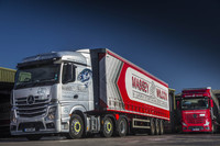 Massey Wilcox adds sparkle with anniversary Actros from Rygor