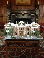 Welcombe Hotel celebrates Christmas with the creation of a giant replica Gingerbread house