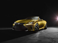 Lexus reveals LF-C2 luxury roadster concept