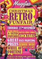 Maggie's Christmas Retro Funfair Travels to Chelsea