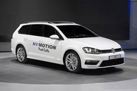 Golf SportWagen HyMotion with hydrogen fuel cell