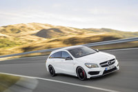 Mercedes-Benz CLA 45 AMG Shooting Brake: Avant-Garde meets driving performance