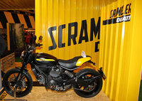 Ducati Scrambler draws the crowds at Motorcycle Live