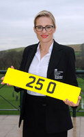 DVLA Personalised Registrations sets a new British record as 25 O sells for £500,000
