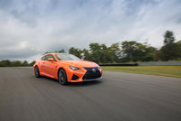 Lexus's most powerful V8 engine debuts in the new RC F