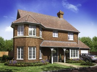 Reserve a family-size home for a spring move at The Grange in Hailsham