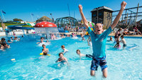 Bigger and better swimming pool at Woolacombe Bay Holiday Parks in 2015