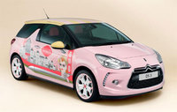 DS 3 by Benefit concept car giveaway on Citroen stand at Clothes Show Live 2014