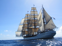 Sail across the Atlantic ocean as voyage crew in 2015