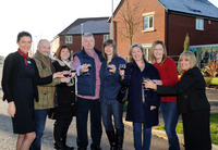 Linden Homes hosts a festive get together for new neighbours in Leicestershire