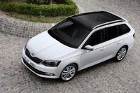 New Skoda Fabia Estate production starts