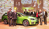 Skoda celebrates its millionth sale of 2014