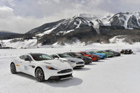 Cold comfort: Aston Martin On Ice promises bespoke luxury