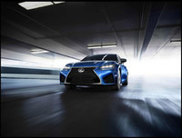 Lexus announces an addition to its 'F' performance line: the GS F saloon