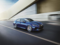 Introducing the GS F, Lexus's new high-performance V8 saloon