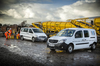 Rail specialist signals its commitment to safety with Mercedes-Benz vans