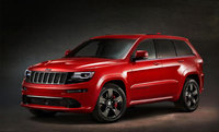 New high performance Jeep Grand Cherokee SRT Red Vapor Limited Edition