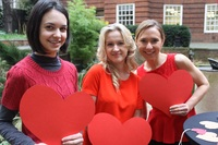 BMA House gets hearts & meetings pumping for wear Red Day