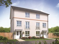 Trade up to versatile townhouse living at Taylor Wimpey's Cranbrook