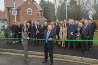 Special event marks the launch of new Wingerworth show home