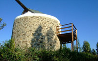 Star gazing yoga windmill proves there's more to the Algarve than beaches and golf!