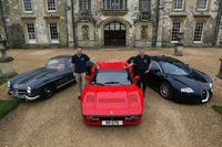 Tiff Needell signs up as Wilton Classic & Supercar ambassador
