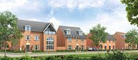 New homes at Northfield View, Stowmarket