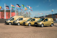 Ford Transit golden convoy starts UK tour to celebrate 50 years of service