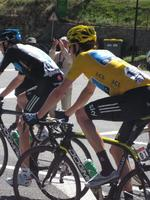 Cheer on Team Sky in the French Pyrenees in 2015