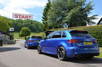 Audi launches new RS 3 Sportback at Shelsley Walsh