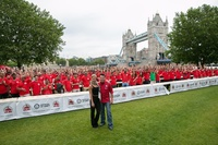 Papa John's smashes Guinness World Records title for most people tossing pizza dough