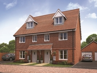 Experience the benefits of three-storey living in the new homes at Tongham Copse