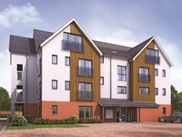 New apartments now available at Meridian Square, Hurst Green