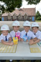 Local primary school pupils name the roads at new development in Buckinghamshire