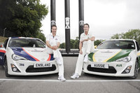 Toyota helps cricket legends Vaughan and McGrath #settlethescore