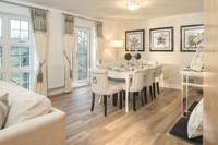Step inside the new showhomes now open at Oaklands at Crookham Park