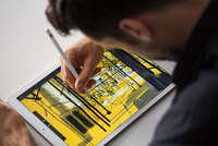 Apple iPad Pro featuring 12.9-inch Retina display