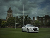 Rolls-Royce unveils bespoke 'Wraith - History of Rugby'