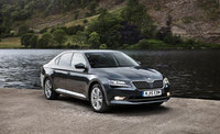 Fleet sales soar as new Superb hits Skoda showrooms