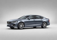 Volvo stakes its claim in the premium saloon segment with the S90