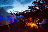 Kiwi Experience glamping accommodation