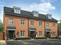 Stunning new showhomes and sales centre launched Clarence Park, Buckingham