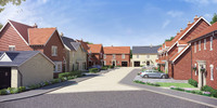 Family homes offering country living launch for sale in Bentley Heath, Hertfordshire