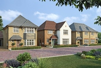 Redrow homes at Oaklands Park