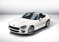 Fiat 124 Spider makes European debut at the Geneva Motor Show